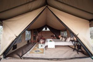 Mboma Island Camp Room