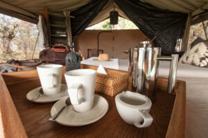 Mboma Island Camp Bedrooms